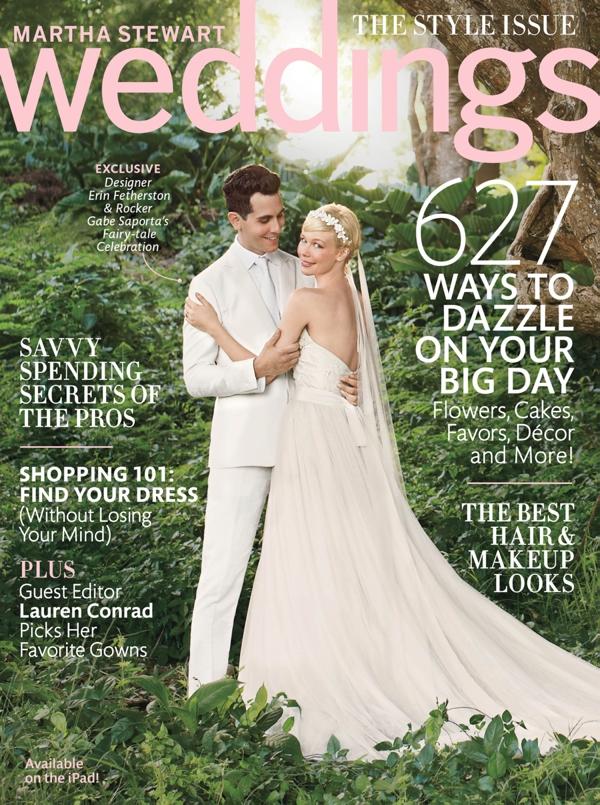 Martha Stewart Weddings Fall 2013 Something Turquoise