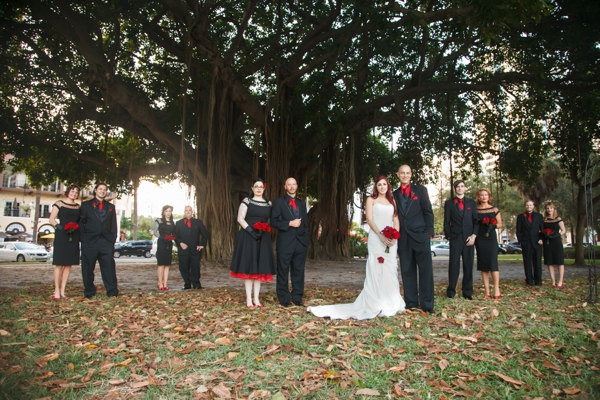 Halloween Themed Wedding Of Jared Jodi