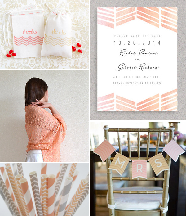 ST_ETSY_peach_chevron_wedding