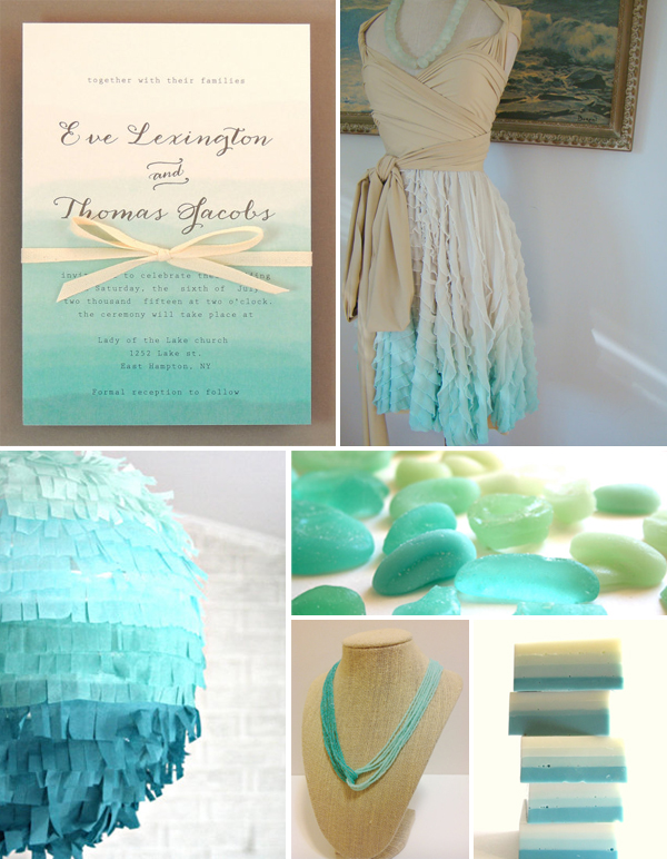 ST_ETSY_turquoise_ombre_wedding