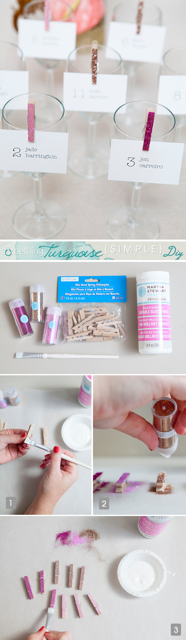 ST_Simple_DIY_Glitter_clothespin_escort_cards