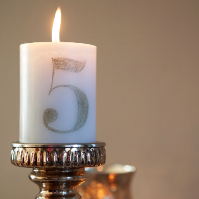 How to make tissue paper transfer candle table numbers for Literature craft and voice 2nd edition pdf