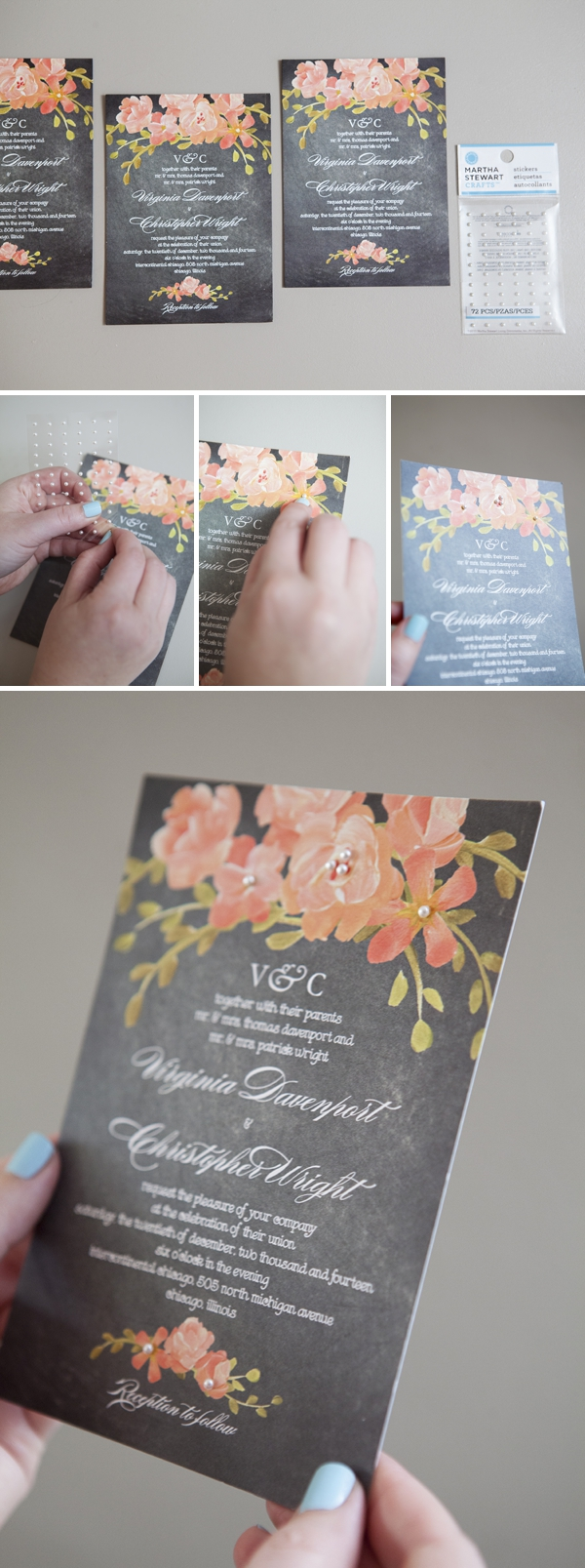 How To Embellish Store Bought Wedding Invitations