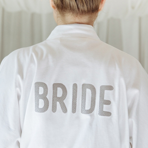 How To Make A Personalized Robe For Your Wedding Day!