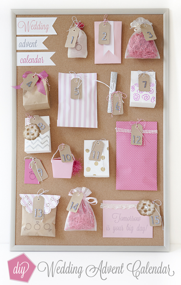 How To Make A Wedding Advent Calendar