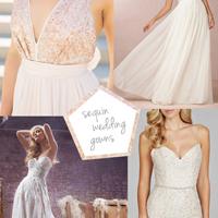 sequin-wedding-dresses