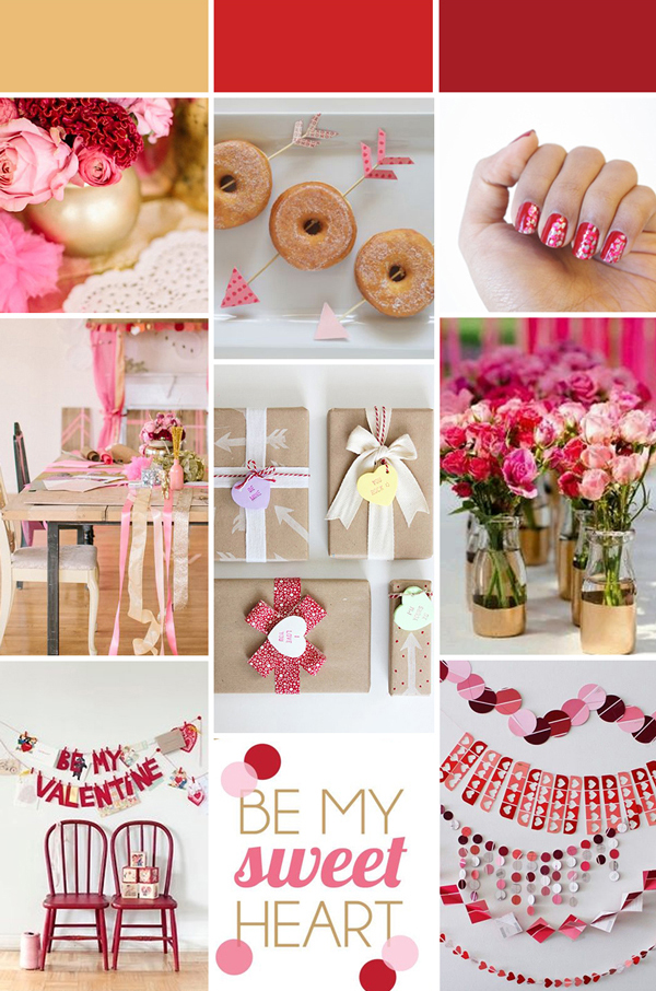 valentine inspired wedding