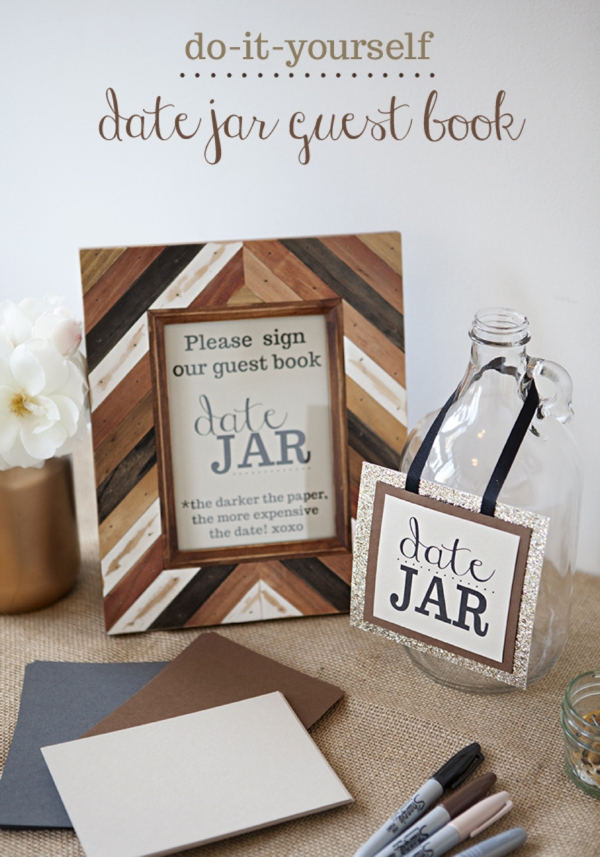 Somethingturquoise Diy Date Jar Guest Book 0001 Jpg