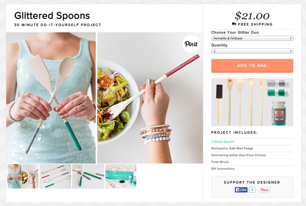 SomethingTurquoise_Glittered-wooden_spoons_darby-smart