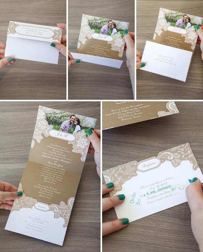 Cheap Send And Seal Wedding Invitations: Check Out These Seal And Send Wedding Invitations