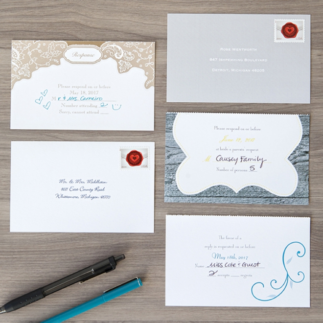 Check Out These Seal And Send Wedding Invitations