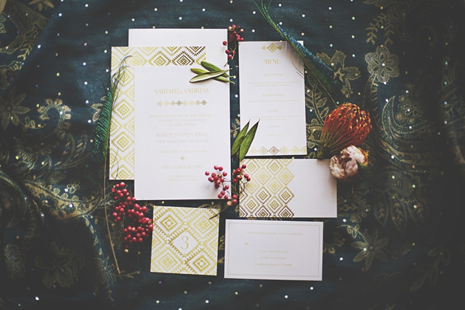 moroccan style wedding invitations