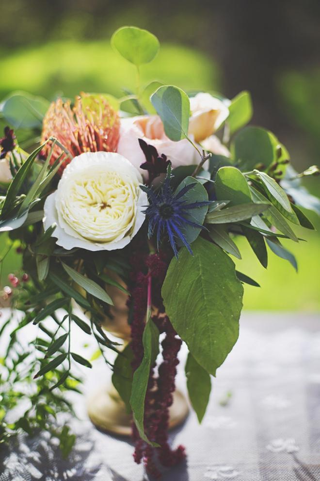 Beautiful romantic vibrant wedding flowers