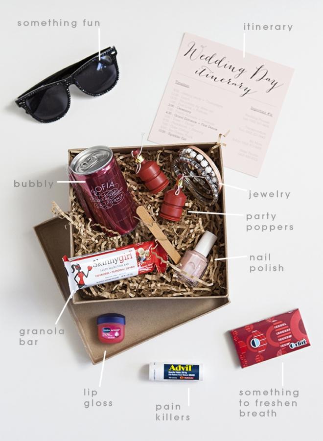 Bridesmaid Survival Kit | Diy Bridesmaid Survival Kit So Cute And So Easy