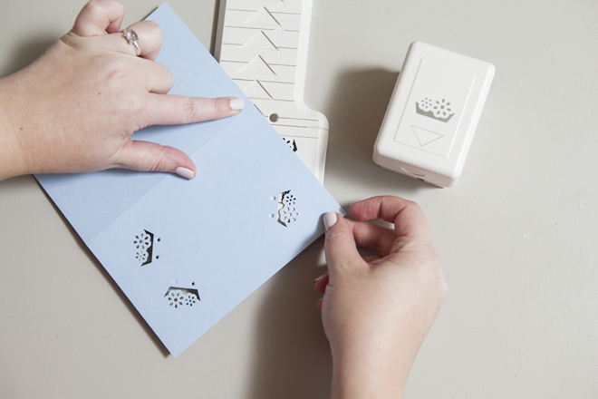 Learn How Easy It Is To Hand Punch Your Wedding Stationary