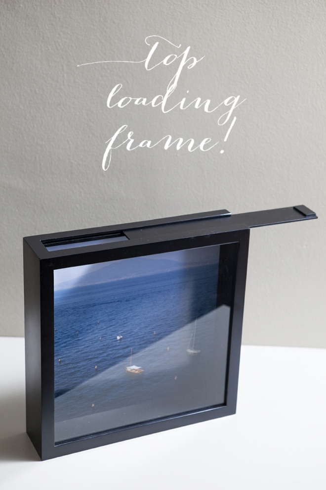 Learn how to make this darling honeymoon fund frame!