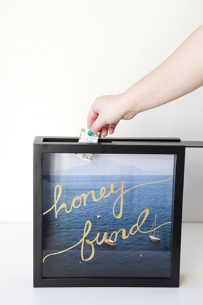 Honeymoon Saving Fund Frame Ornaments Ornaments Accents Home Living
