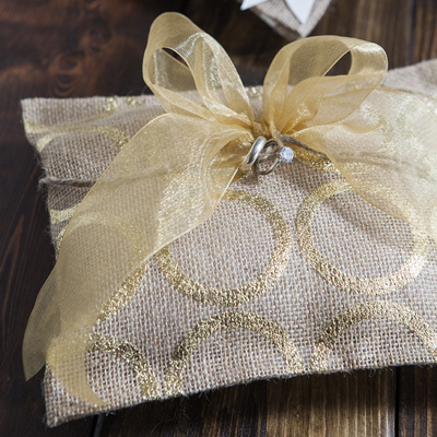Learn How To Make A Ring Bearer Pillow With Hot Glue Only