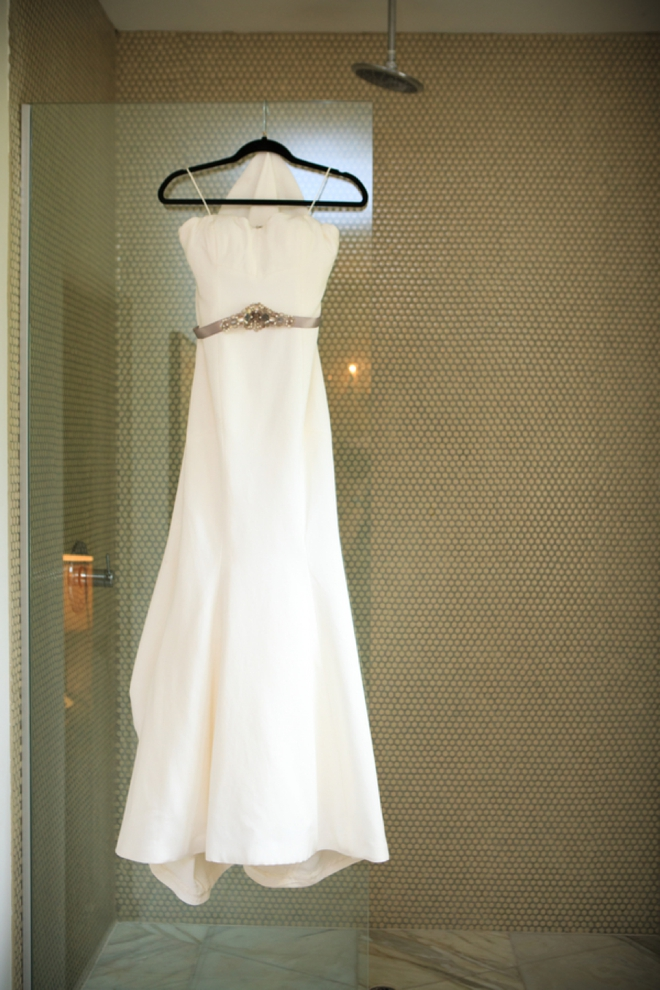 Gorgeous Nicole Miller wedding dress