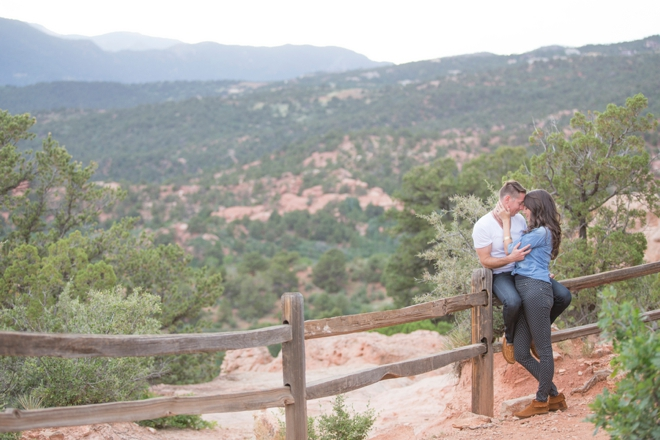 Romantic outdoor engagement session by Lucky Malone Photography