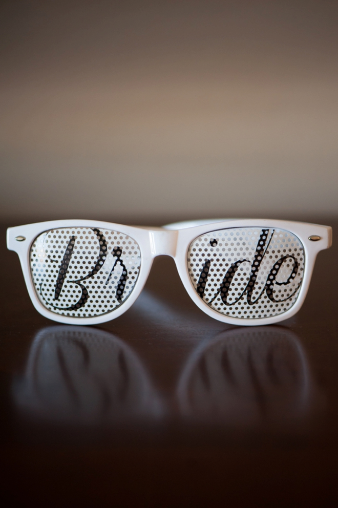 Darling BRIDE sunglasses!