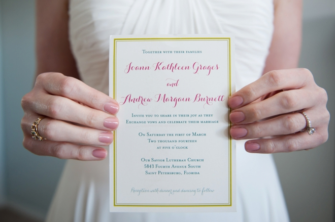 DIY wedding invitations...