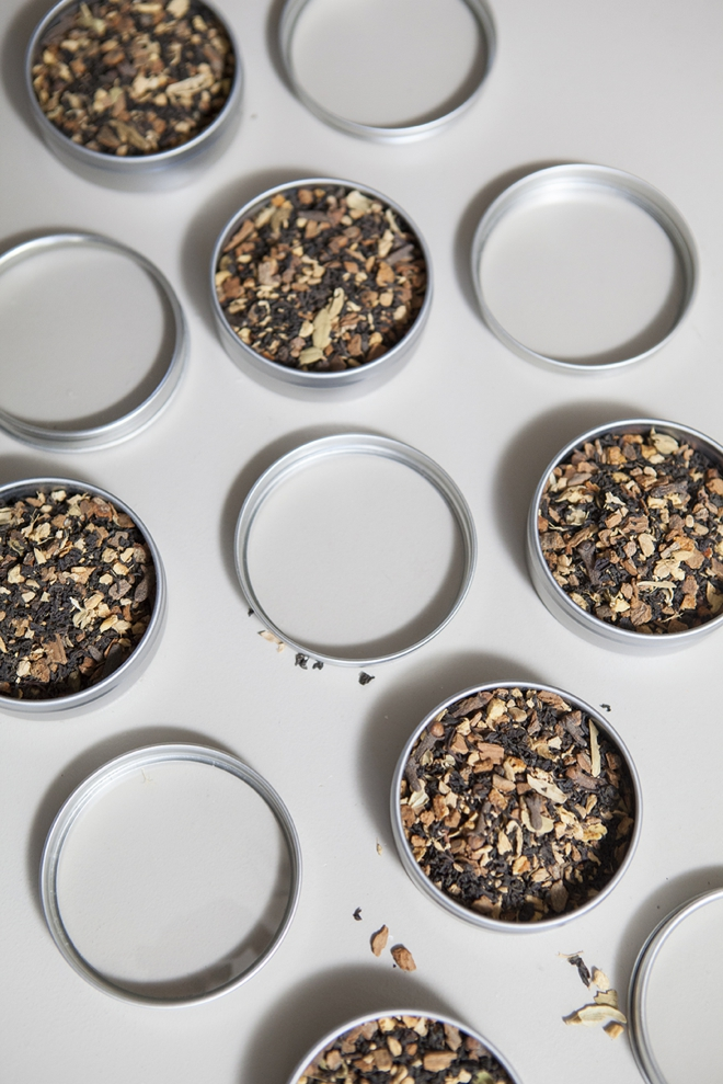 Learn how to make tea wedding favors