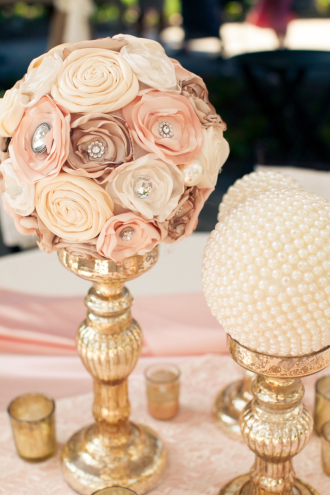 Beautiful DIY modern/vintage wedding decor...