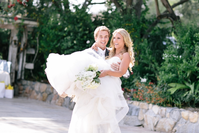 Enter the new Mr and Mrs!