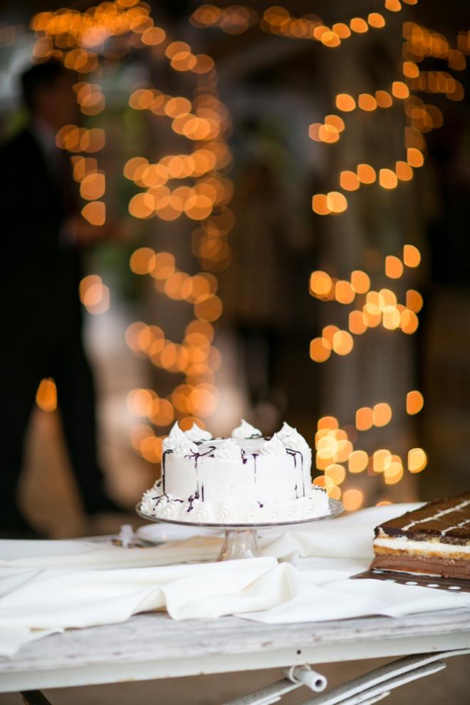 Small handmade wedding cakes