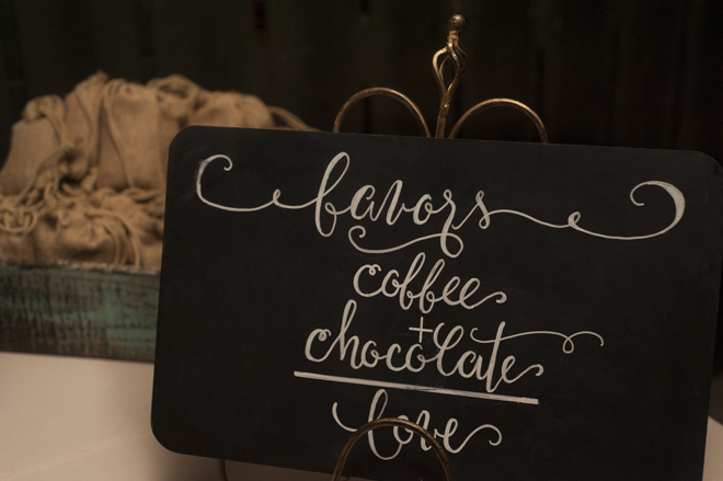 coffee wedding favors