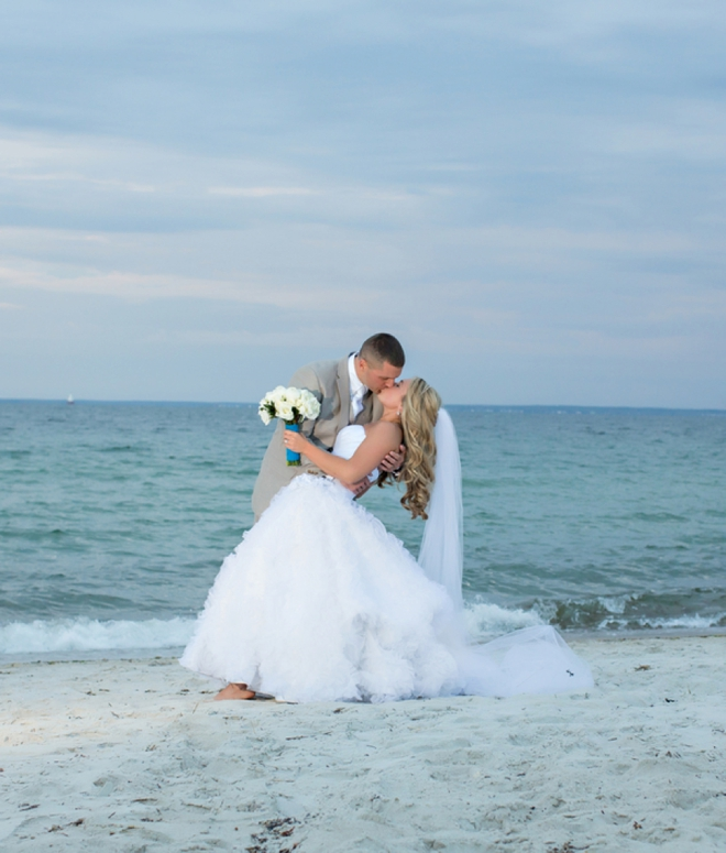 Gorgeous Cape Cod beach wedding
