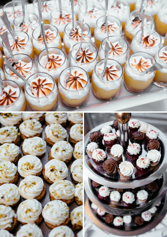 Yummy wedding desserts