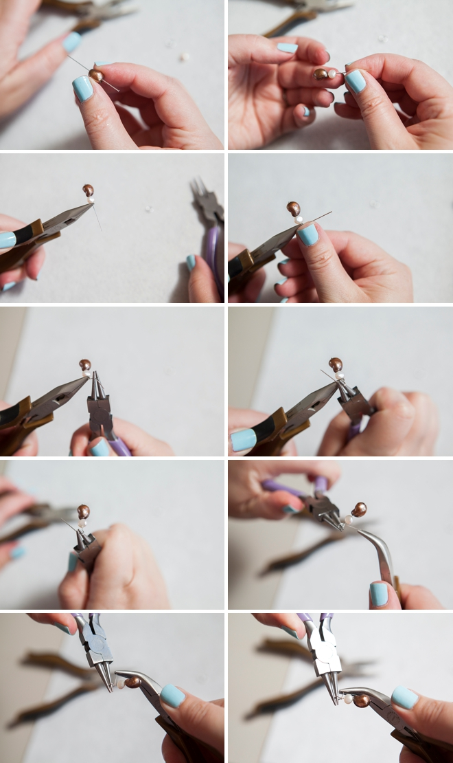 How to wire wrap jewelry.