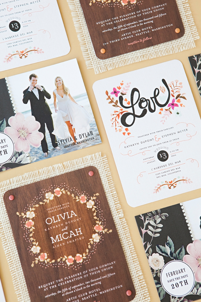 Learn how to embellish store bought wedding invitations