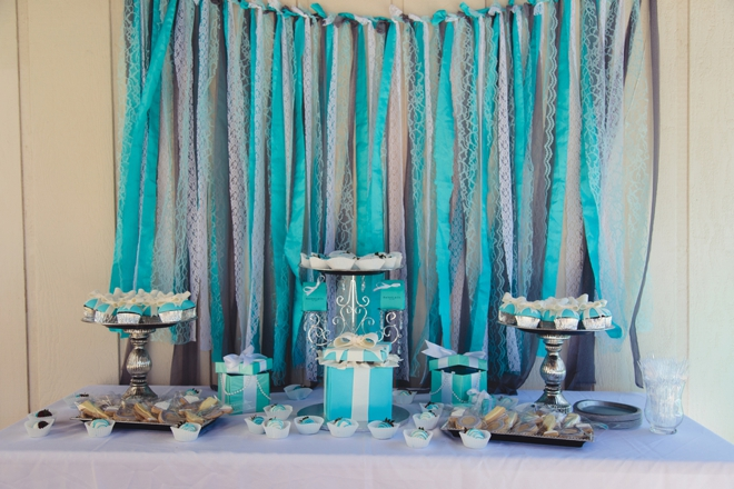 tiffany co themed bridal shower