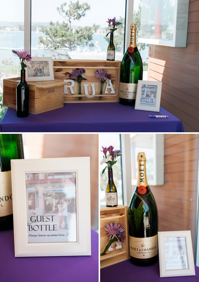 champagne guest book