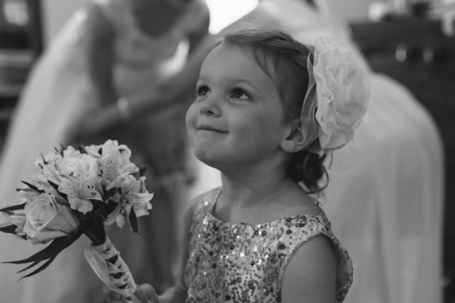 Darling flower girl