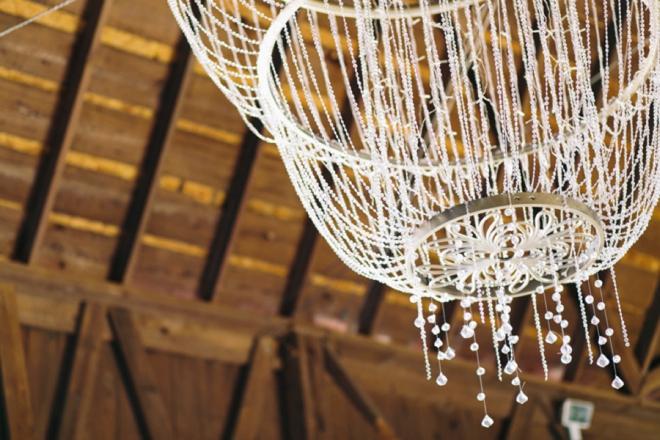 Barn chandelier
