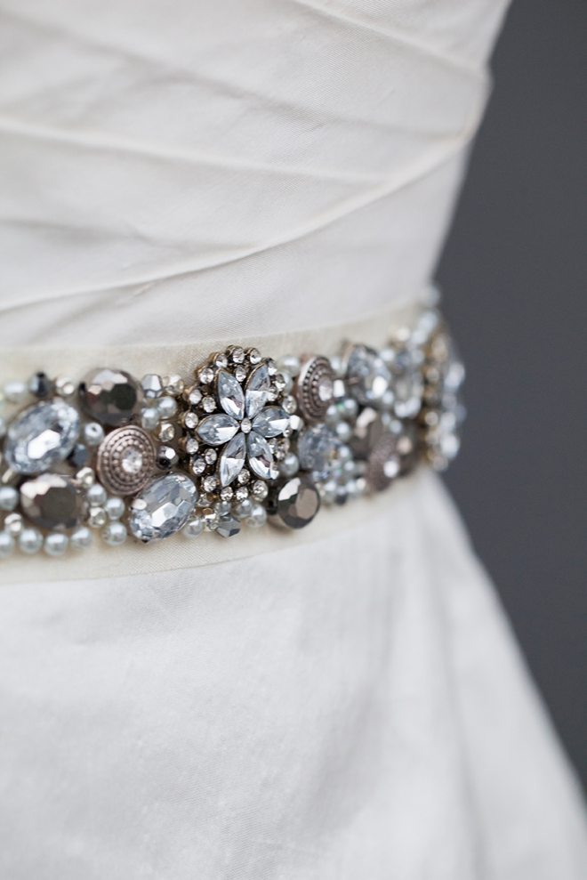 Learn How To Make This Chic Diy Rhinestone Bridal Sash