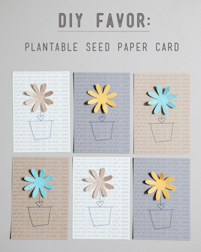 Confetti Save the Date Card - Little Flamingo