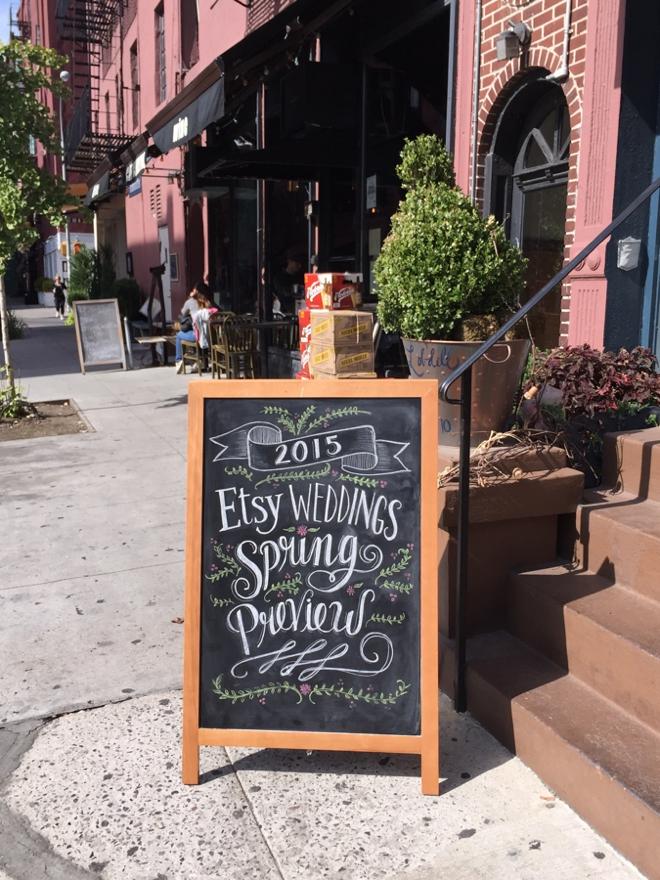Etsy Weddings Spring Preview Show at Bridal Fashion Week