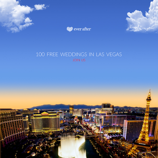 100 FREE wedding in Las Vegas from Ever After