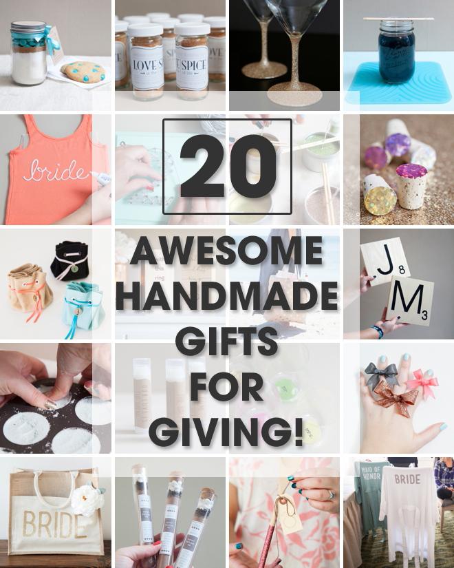 20 Awesome Handmade Christmas Gifts