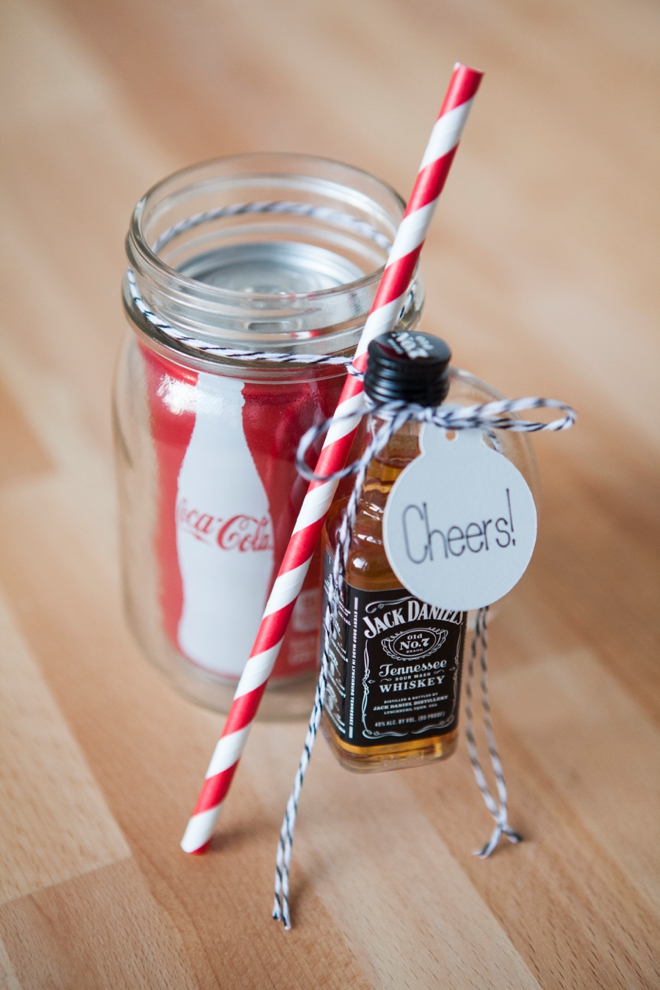 DIY Mason Jar Cocktail Gift The