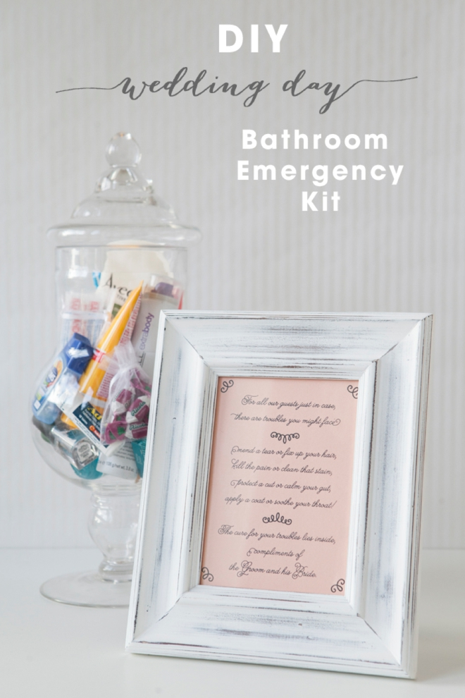 Learn How To Make Your Own Bathroom Emergency Kit