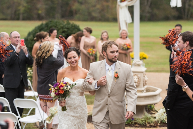 DIY fall wedding must see!