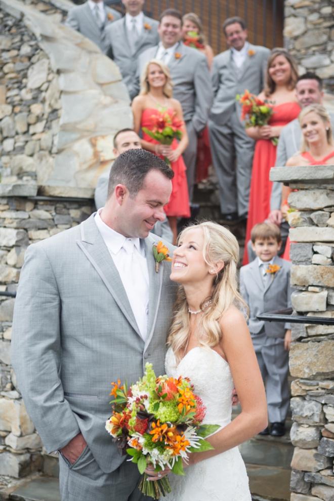 Fall wedding at Black Creek Mountain