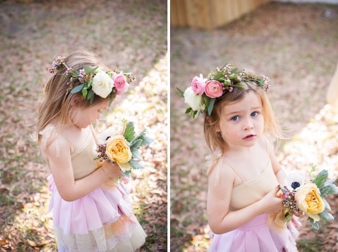 adorable flower girl