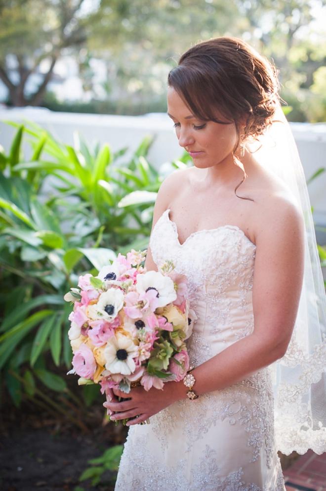 Stunning vintage bride